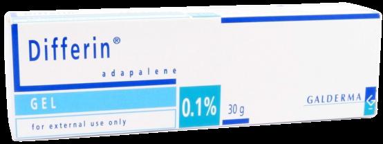 Acheter Differine pour lutter contre les soucis d'acné